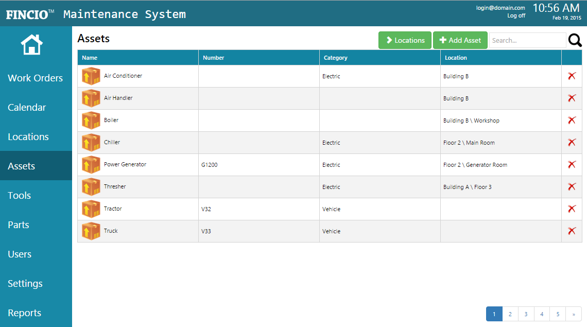CMMS Maintenance Software System - Web Based CMMS Software